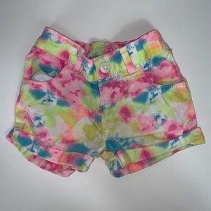 Garanimals multi colored shorts - 18 months